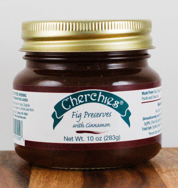 Cherchies Fig Preserves with Cinnamon