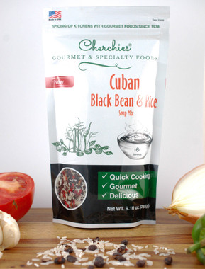 Cherchies Cuban Black Beans & Rice Soup