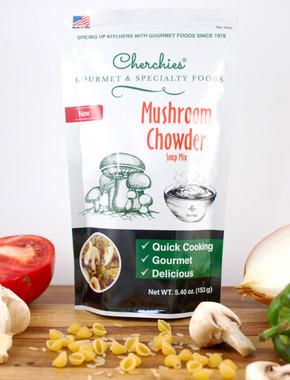 Cherchies Quick Cooking Mushroom Chowder Soup Mix