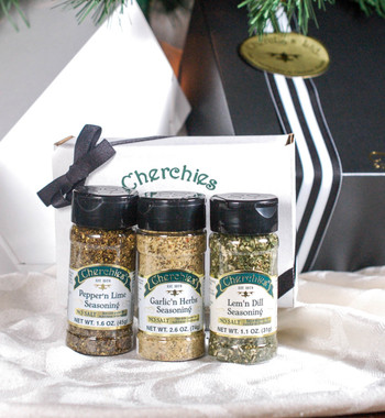 Cherchies No Salt Seasoning Trio Collection