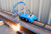 BLUEROCK CG-30 Gas Cutting Track Torch - Motorized Burner Cutter Machine w/ 12' Track