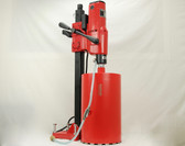 "BLUEROCK 10"" Z1 Concrete Core Drill w/ Stand & 1""-10"" Bit Set - PACKAGE DEAL"