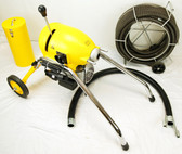 "BLUEROCK SDS200 2"" - 8"" Sectional Pipe Drain Cleaning Machine 60' Snake Cleaner"