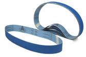 BLUEROCK Pack of 5 #60 Grit Sandpaper Zirconia Alumina Sanding Belts for BBS-40A Polisher/Grinder