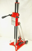 "BLUEROCK Model Z1T/S Vacuum Ready Tilting Stand for 4"", 8"", 10"" & 12"" Z1 Concrete Core Drills"