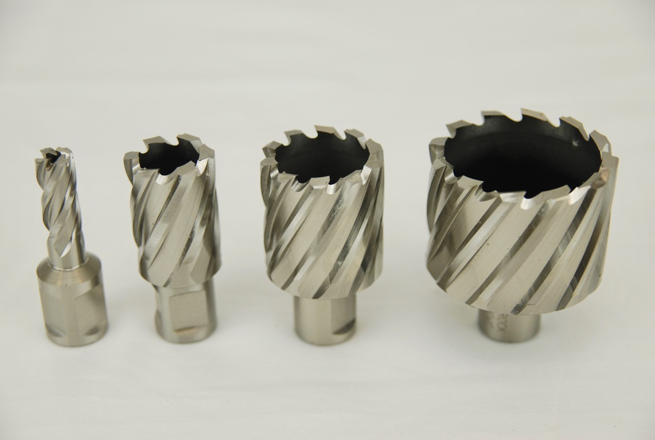 "3//4/"" Shank Magnetic Drill W//PIN 2-1//8/"" X 2/"" HSS Annular Cutters"