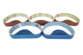 BLUEROCK 40B Pack of 5 Sanding Belts Sandpaper