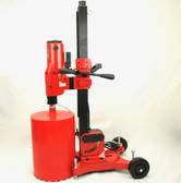 "REFURBISHED BLUEROCK 12"" Z1 LRBT/S Concrete Core Drill w/ Tilting Stand & Large Rolling Base"