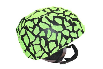 Green Fracture Helmet Cover