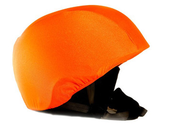 Neon Orange Helmet Cover