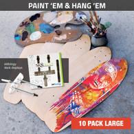 Paint 'em and Hang 'em - 10 Pack Large