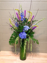 Elegance in Blue - Washington DC - Rockville MD - Palace Florists