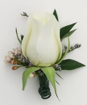 Standard Rose Boutonniere - Washington DC - Rockville MD – Palace Florists