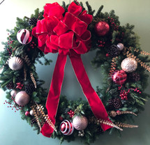 Custom Wreath 3- Local Delivery