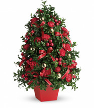 Deck the Halls Tree in Rockville MD, Palace Florists