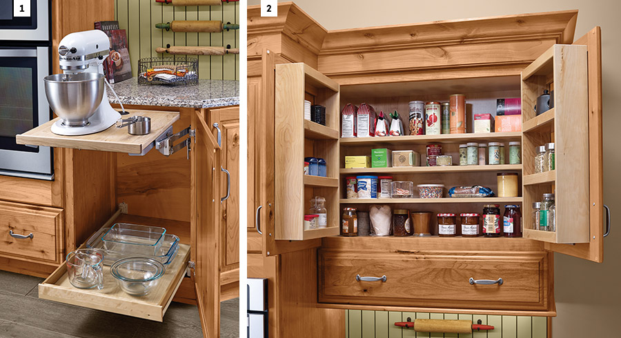 5 Storage Ideas To Make Life Easier In The Empty Nester Kitchen