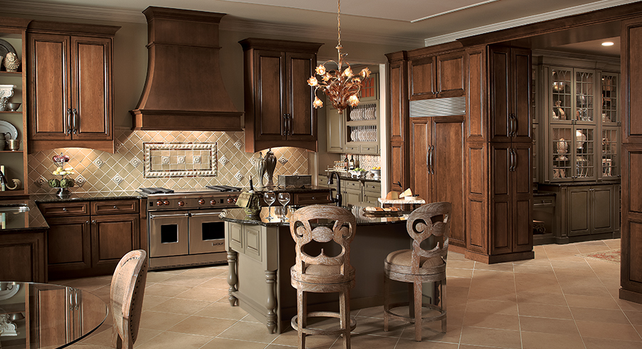 Kitchen Colors: Dark Is The New Neutral - KraftMaid