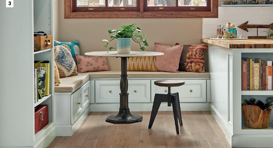 Built-In Dining - Kitchen Nook