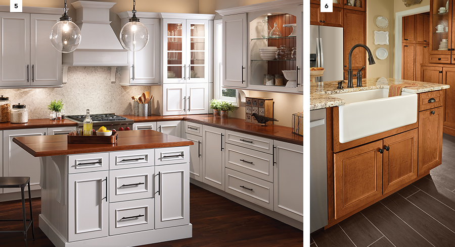 ... A Country Kitchen, But An All White Color Scheme Is Just As Warm And  Welcoming. Incorporate Metal Accents Such As Light Fixtures Or Seating, ...