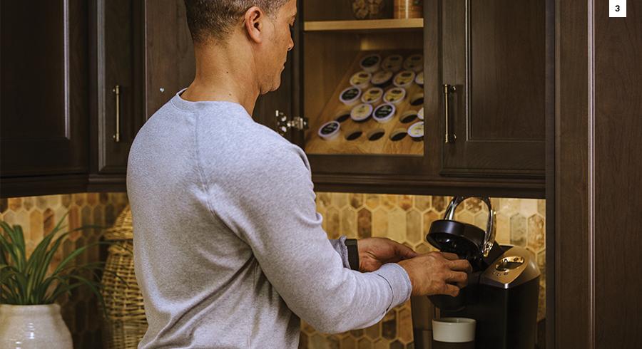 KraftMaid Coffee Zone