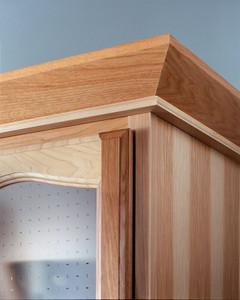 Angle Crown Molding with Stack Molding