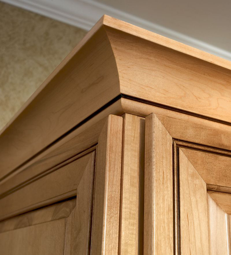 Moldings And Accents At Kraftmaid Com: Large Cove Molding