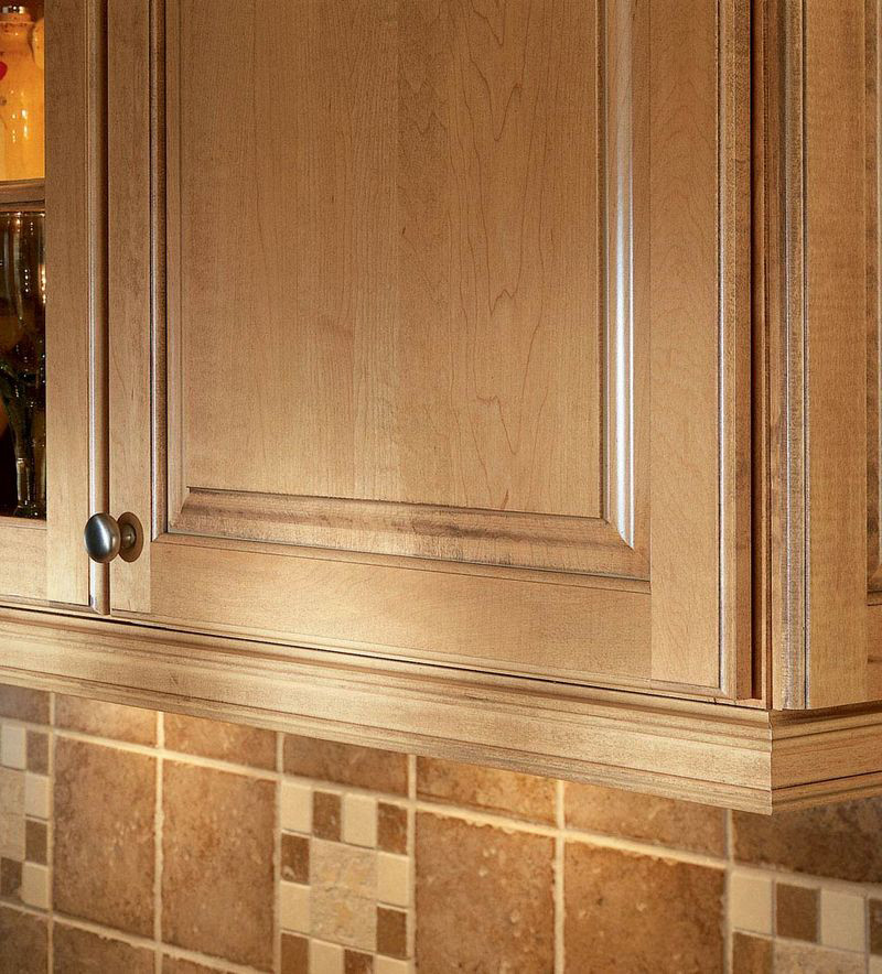 Installing Crown Molding On Kitchen Cabinets: Inset Light Rail