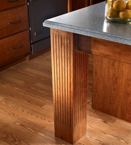 Fluted Square Post