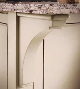Cove Corbel as Countertop Support