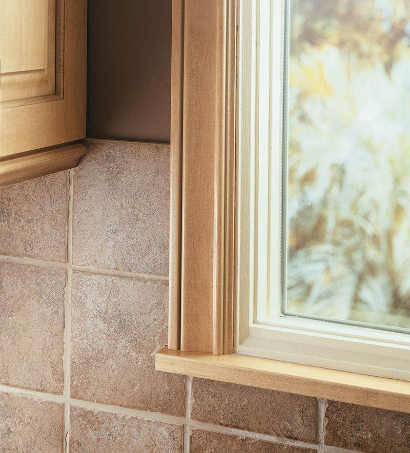 Moldings And Accents At Kraftmaid Com: Large Cove Casing As Window Trim