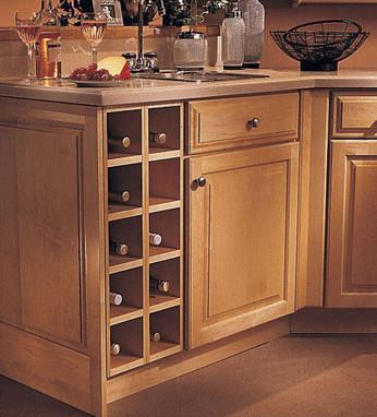 Base Wine Rack Cabinet - KraftMaid