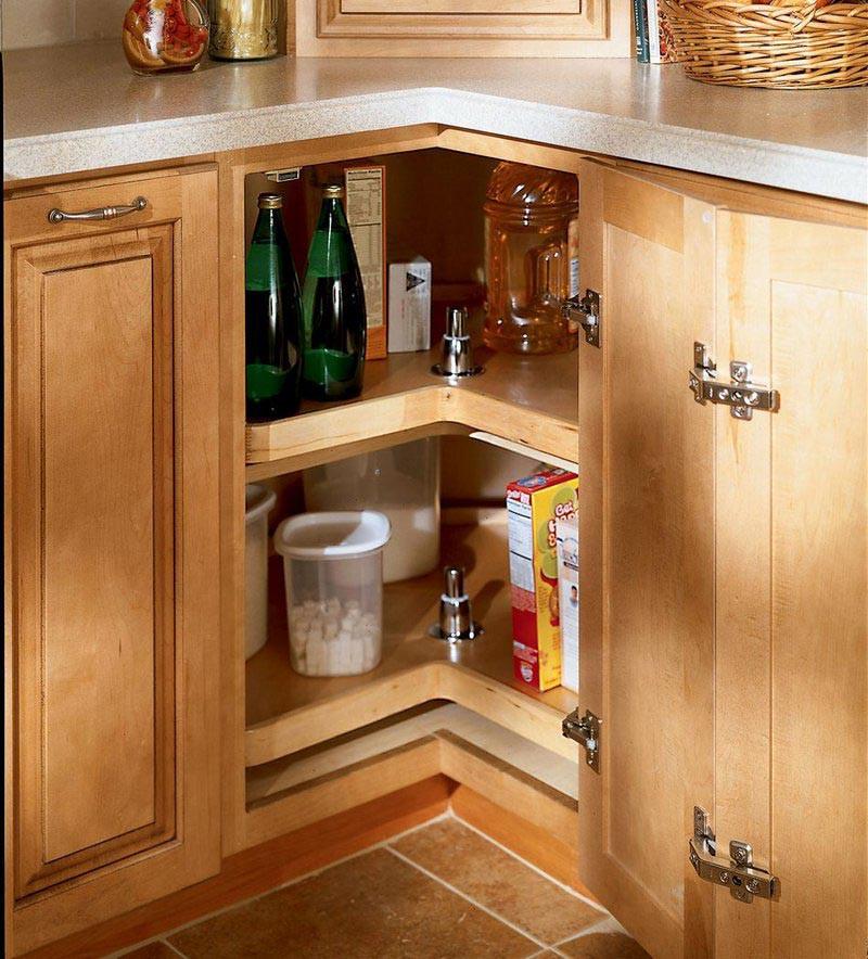 Gentil Easy Reach Wood Lazy Susan. Image 1