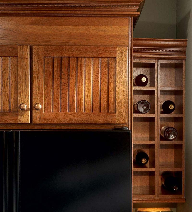 Wall Wine Rack Cabinet Kraftmaid