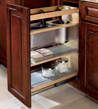 Vanity Base Pull Out Appliance Organizer Kraftmaid