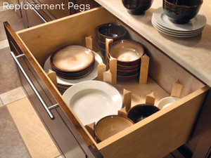 Pegged Drawer Organizer Pack