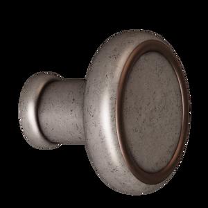 Antique Pewter w/ Copper Baluster Knob