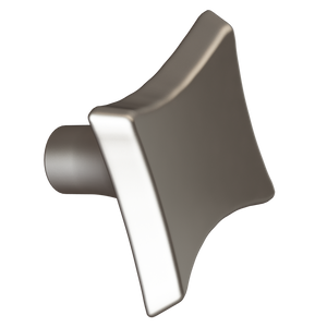 Satin Nickel Sail Knob