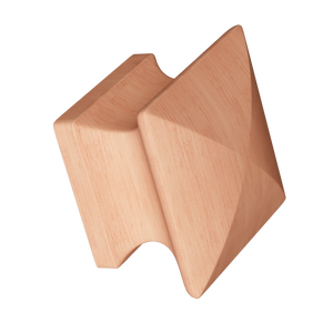 Cherry Square Wood Knob