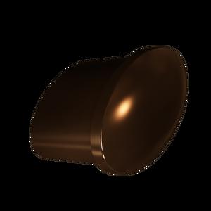 Dark Brushed Bronze Tailored Knob