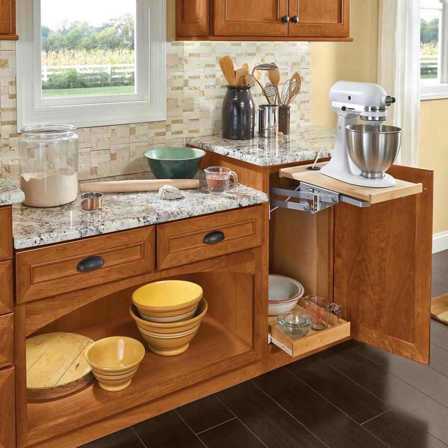 Baking Station With Base Mixer Shelf Kraftmaid