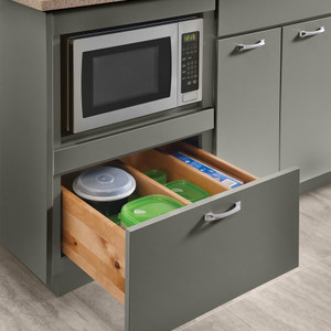 Base Microwave Cabinet 24""