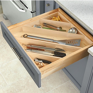 Angled Utensil Drawers