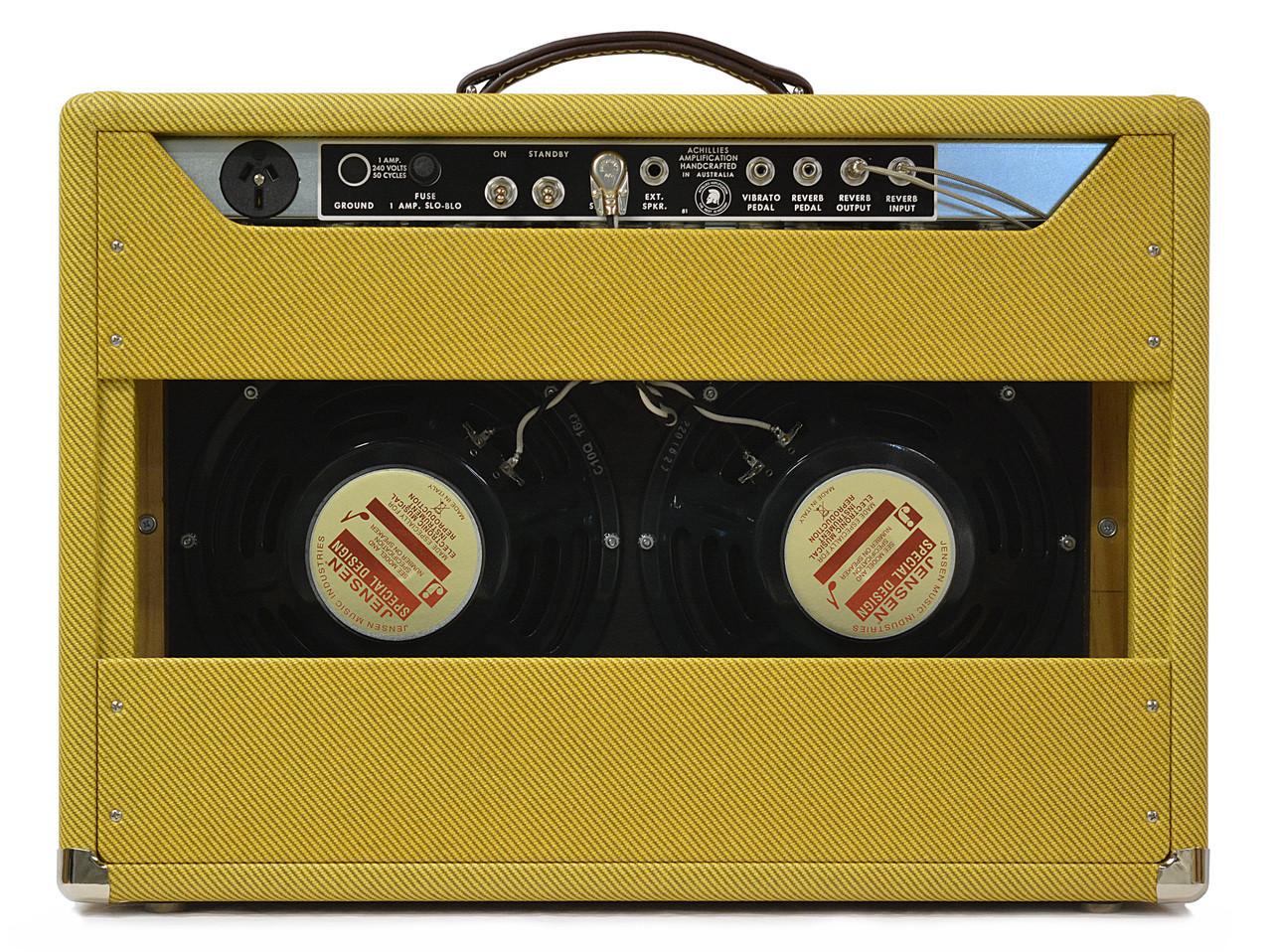 Zephyr 22 2x Jensen C10Q Speakers Tweed Covering
