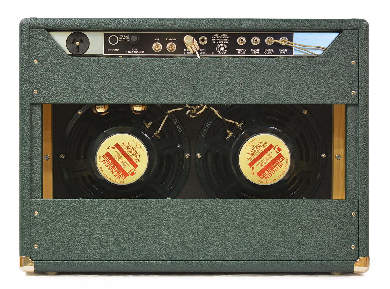 Zephyr 35 2x Jensen C10Q Speakers