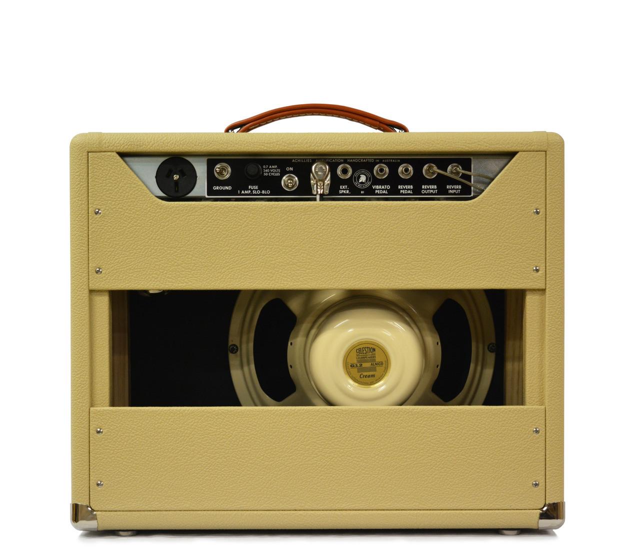 "Zephyr 15 Celestion Alnico Cream 12"" Speaker Blonde Bronco Tolex"