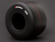 "NEW SK-M - Evinco Red 7.10"" (Med) - Case/12 Tires"