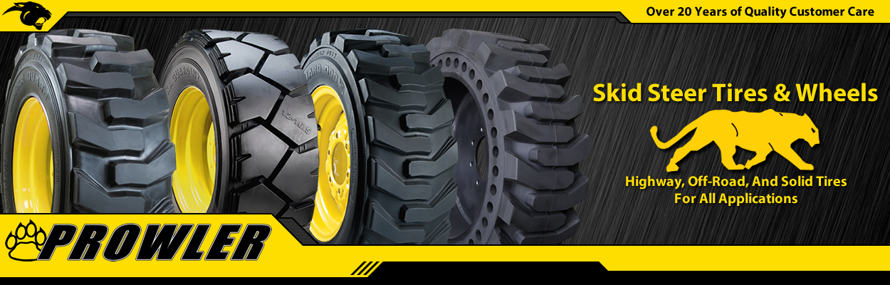 Prowler Skid Steer Tires