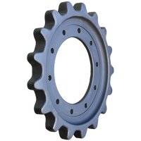 Prowler John Deere 333D 10 Bolt Hole Drive Sprocket - Part Number: T254141
