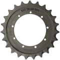 Prowler Takeuchi TB135 Drive Sprocket  Side View  - Part Number: 04710-0600