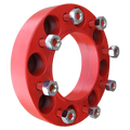 8 Lug 2 Inch Red Wheel Spacer 8x8